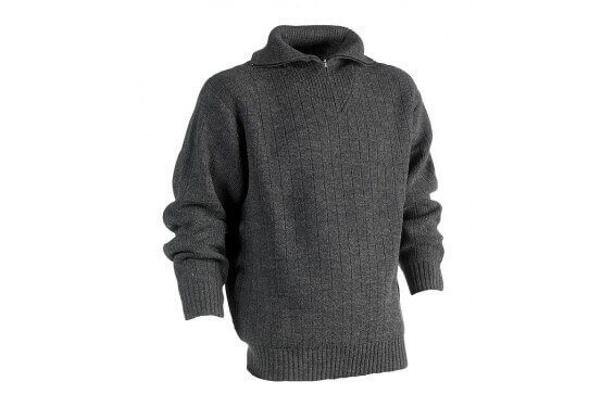 Pull travail col zippe Njord Herock Chaussures-pro.fr