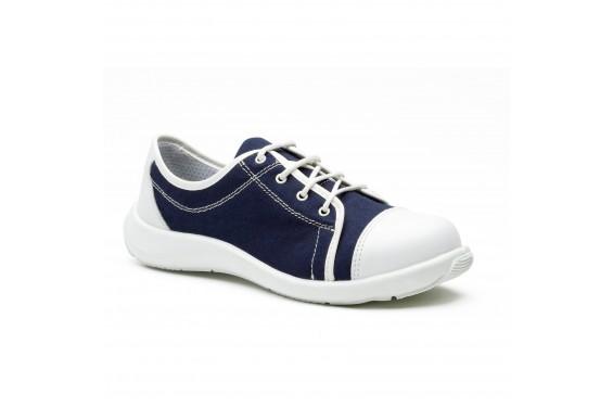 Tennis securite femme Loane S1P marine S24 Chaussures-pro.fr