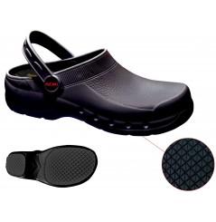 Sabot travail medical leger noir mixte Remi confection Chaussures-pro.fr