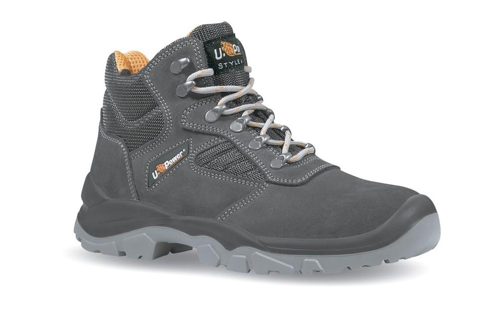 Chaussure de s curit montante mixte real s1p u power chaussures pro - Chaussure de securite montante ...