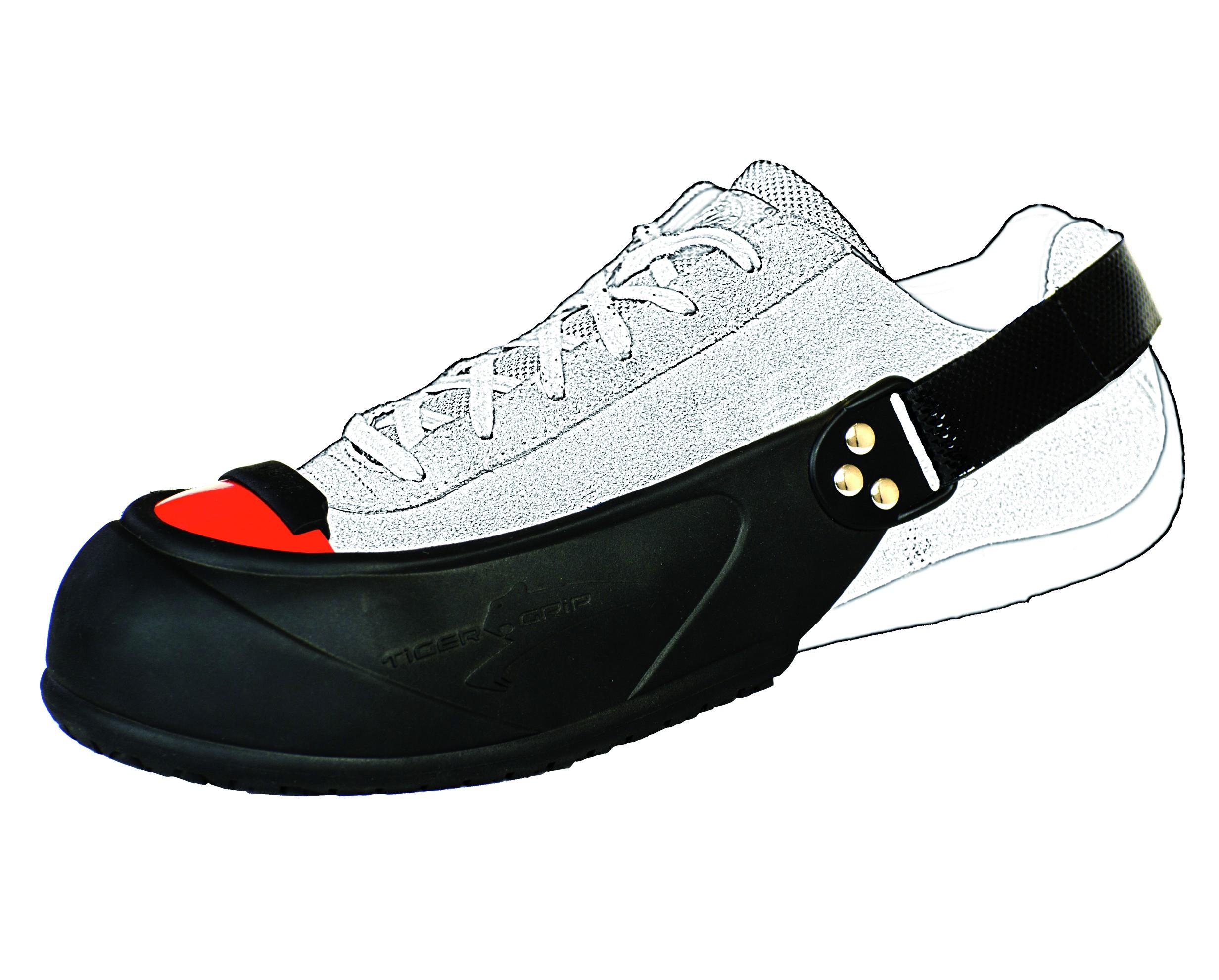 Sur chaussure avec embout...