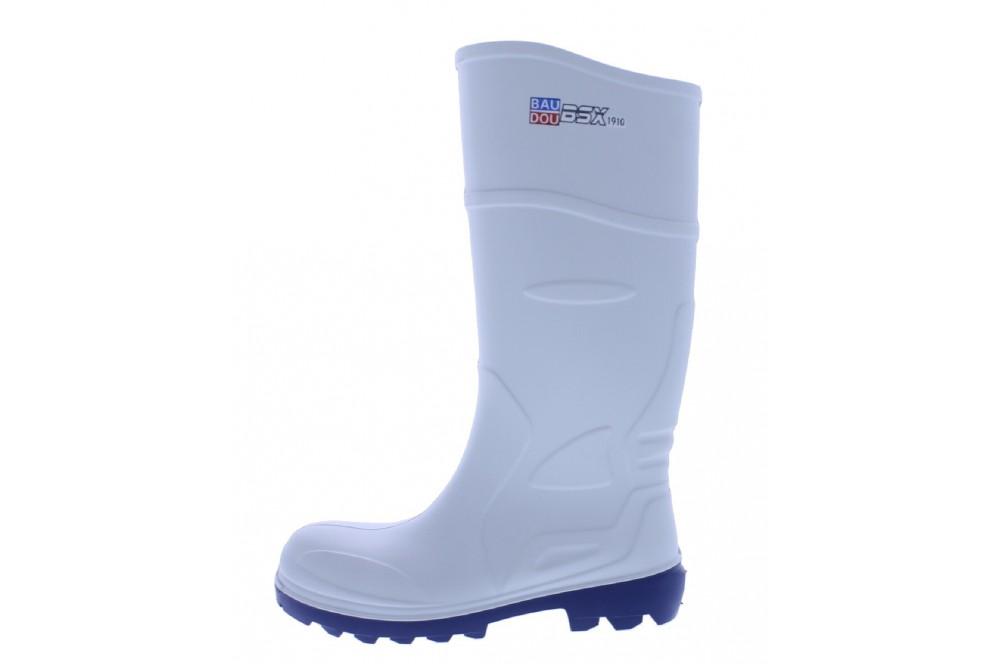 Botte de travail agro alimentaire chaussures pro - Chaussure de securite blanche ...