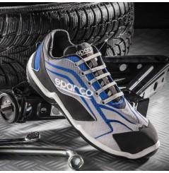 Basket de securite légère Touring gris bleu S1P Sparco