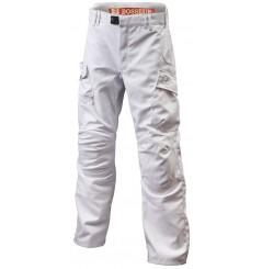 Pantalon de travail resistant Harpoon 3 blanc Bosseur