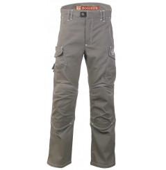Pantalon de travail resistant Harpoon 3 taupe Bosseur