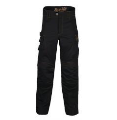 Pantalon de travail resistant Harpoon 3 noir Bosseur