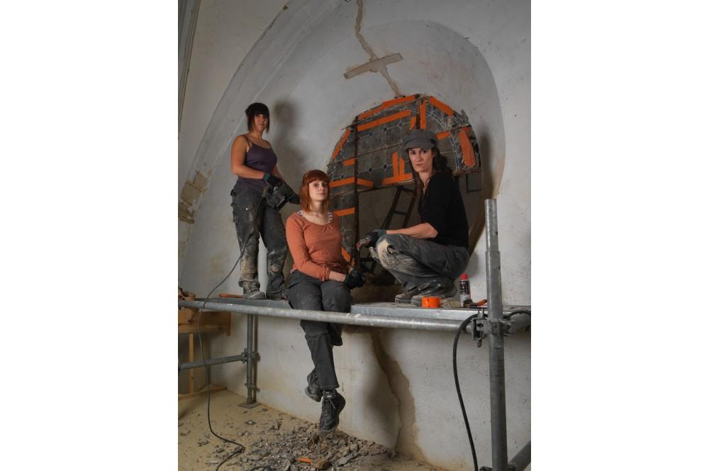 Pantalon de travail femme multi-travaux Harpoon Bosseur
