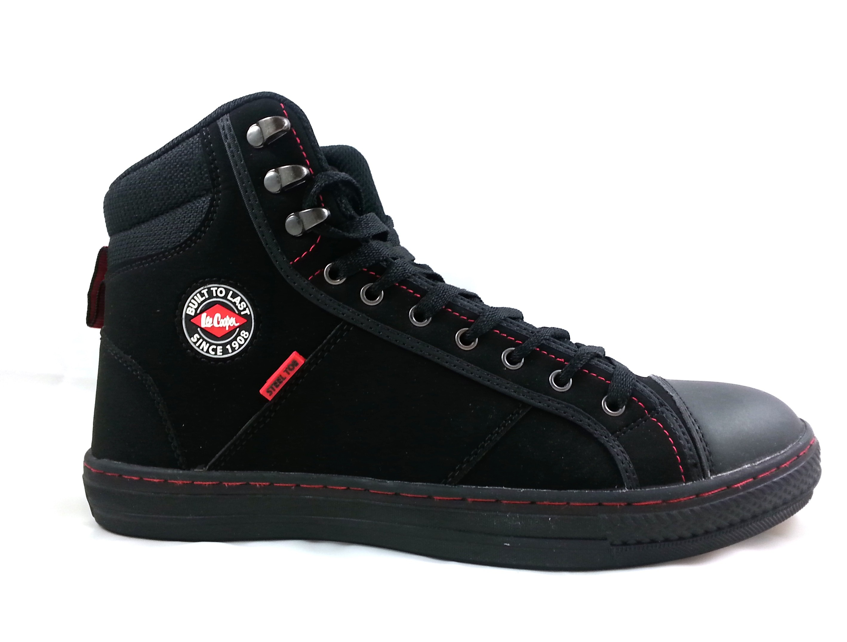 Chaussures de travail style converse SB Lee Cooper vue côté - Chaussures Pro