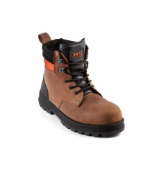 Chaussure de sécurité BTP montante Monster brown Gaston mille