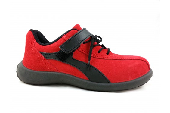 Chaussure securite femme S1P Elea rouge S24 Chaussures-pro.fr
