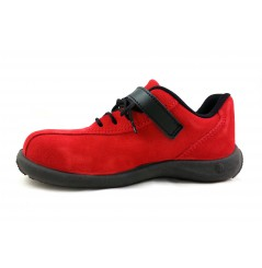 Chaussure securite femme S1P Elea rouge S24 Chaussures-pro.fr vue 1