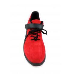 Chaussure securite femme S1P Elea rouge S24 Chaussures-pro.fr vue 2