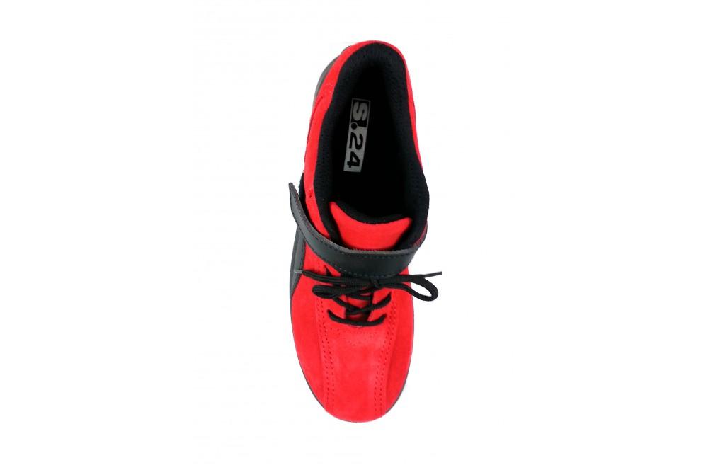 S24 S1p Chaussures Femme Sécurité De Saucony Elea Rouge wAwqYI6