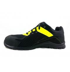 Basket securite practice S1P noir jaune Sparco Chaussures-pro.fr vue 1