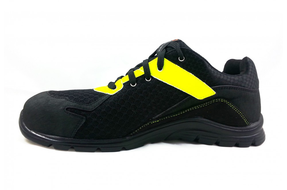 Basket de sécurité practice S1P noir jaune Sparco