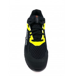 Basket securite practice S1P noir jaune Sparco Chaussures-pro.fr vue 2
