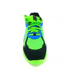 Basket securite practice S1P vert bleu Sparco Chaussures-pro.fr vue 2
