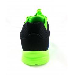 Basket securite practice S1P vert bleu Sparco Chaussures-pro.fr vue 3