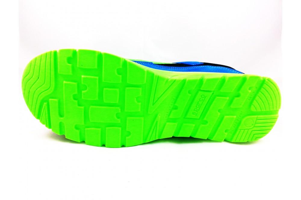 Basket de sécurité practice S1P vert bleu Sparco