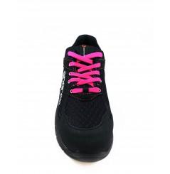 Basket securite femme practice S1P noir rose Sparco Chaussures-pro.fr vue 2