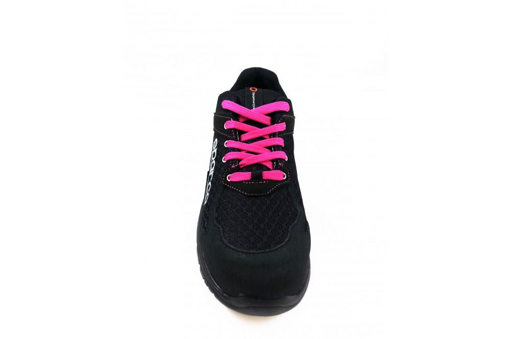 Basket de sécurité femme practice S1P noir rose Sparco