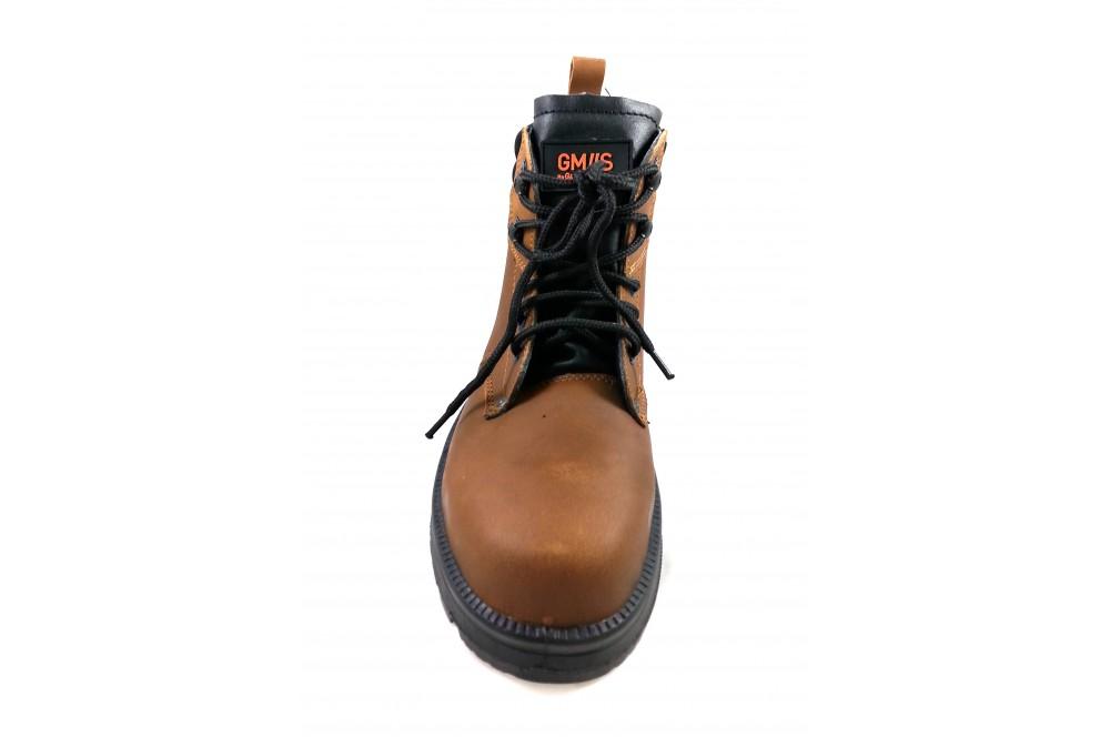 Chaussure de sécurité BTP montante Monster brown Gaston mille
