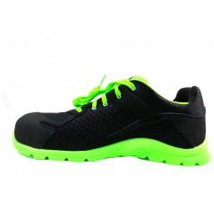 Basket securite practice S1P noir verte Sparco Chaussures-pro.fr vue 1