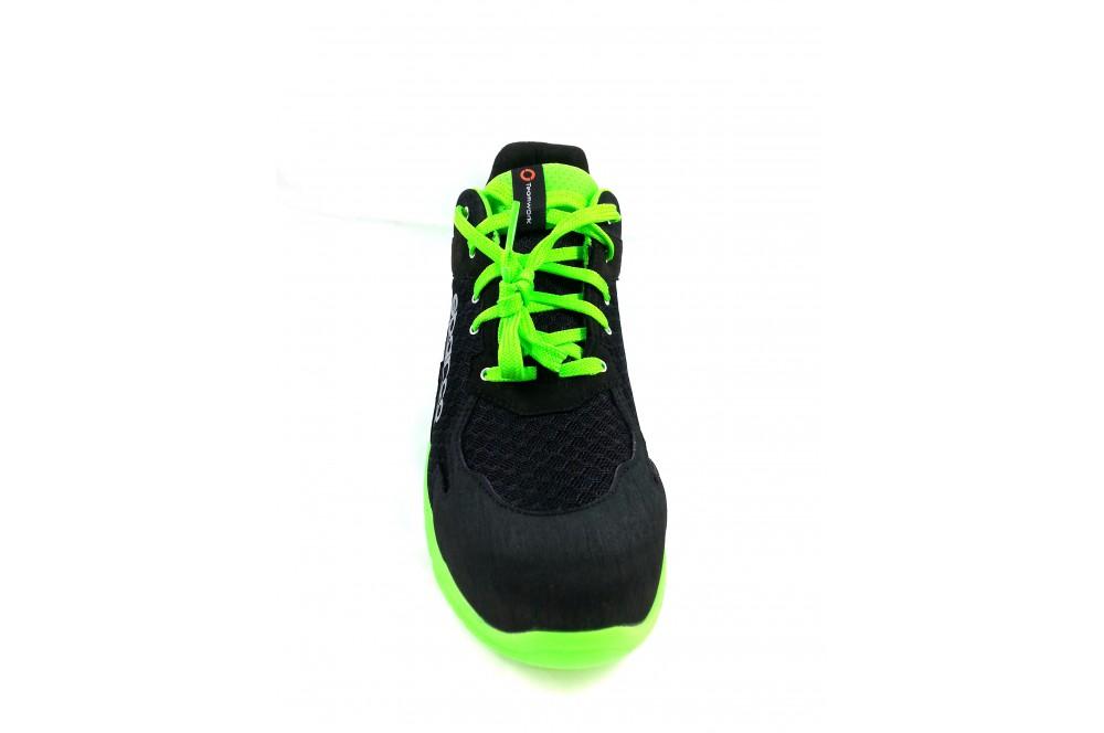 Basket de sécurité practice S1P noir verte Sparco