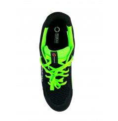 Basket securite practice S1P noir verte Sparco Chaussures-pro.fr vue 3