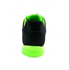 Basket securite practice S1P noir verte Sparco Chaussures-pro.fr vue 4