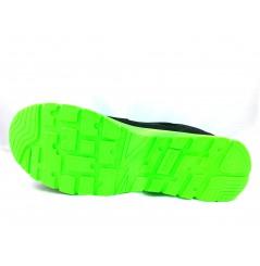 Basket securite practice S1P noir verte Sparco Chaussures-pro.fr vue 5