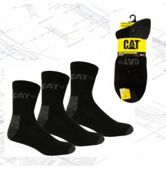 Lot de 3 socquettes de travail résistantes Caterpillar