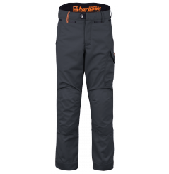 Pantalon de travail technique Harpoon enduro gris Bosseur