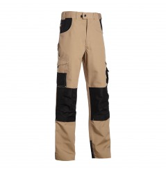 Pantalon de travail multipoches Adam beige North Ways