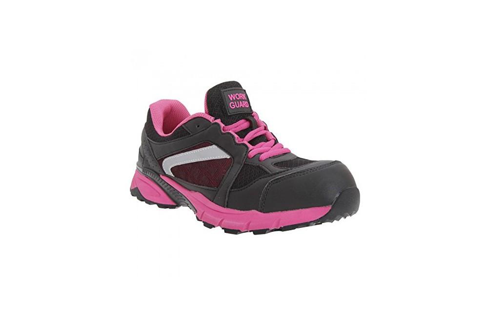 basket de s curit femme s1p pink result chaussures pro. Black Bedroom Furniture Sets. Home Design Ideas