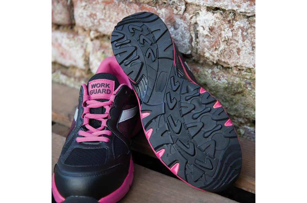 Basket de sécurité femme S1P Pink Result