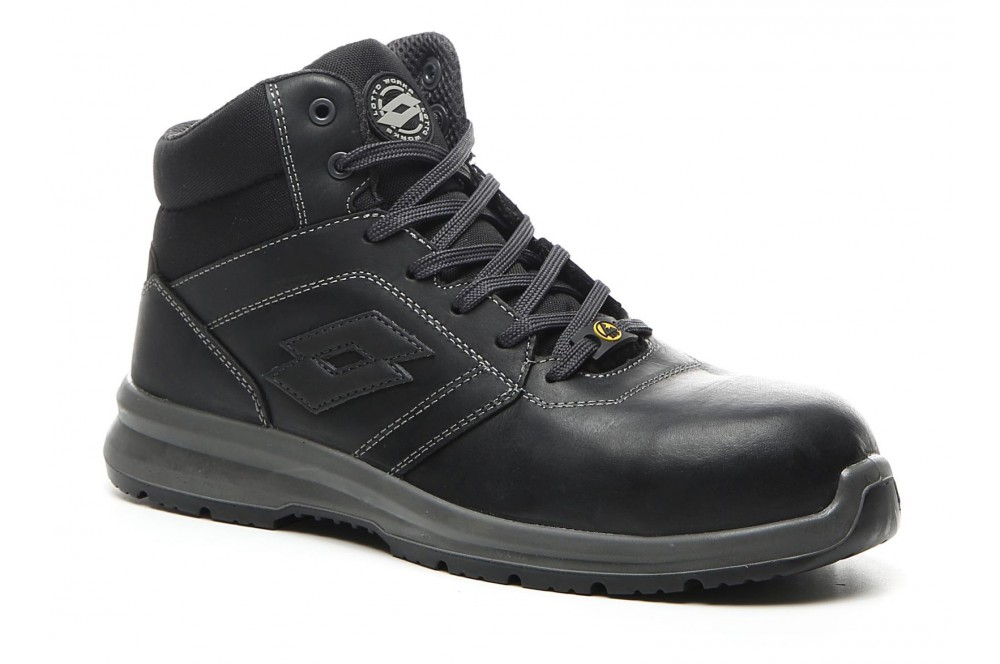 Chaussure de sécurité Race 400 MID S3 black Lotto Works