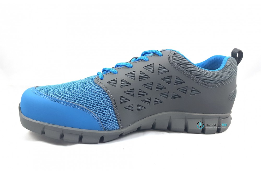 Basket de sécurité S1P excel light grey blue Reebok