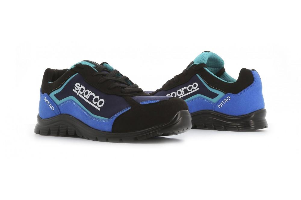 Basket de sécurité souple nitro S3 noir bleu Sparco