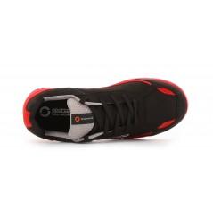 Basket securite souple nitro S3 rouge noir Sparco Chaussures-pro.fr vue 2
