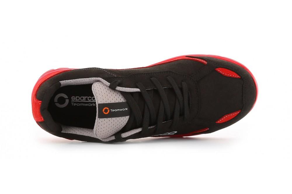Basket de sécurité souple nitro S3 rouge noir Sparco