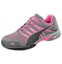 Basket de sécurité femme S1 Celerity knit pink Puma