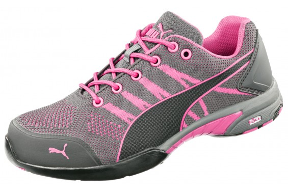Basket securite femme S1 Celerity knit pink Puma Chaussures-pro.fr