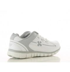 Basket travail femme medicale Sunny grise Oxypas Chaussures-pro.fr vue 2