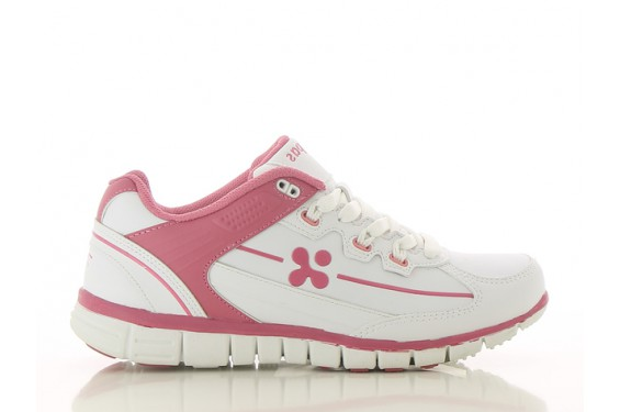 Basket travail femme medicale Sunny rose Oxypas Chaussures-pro.fr