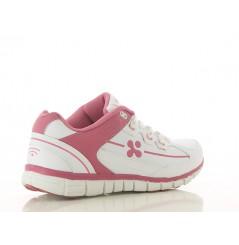 Basket travail femme medicale Sunny rose Oxypas Chaussures-pro.fr vue 2