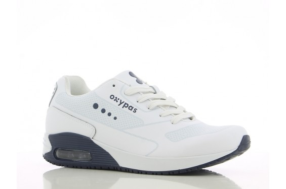 Basket travail medicale homme Justin navy Oxypas Chaussures-pro.fr