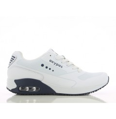 Basket travail medicale homme Justin navy Oxypas Chaussures-pro.fr vue 1