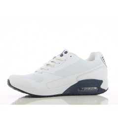 Basket travail medicale homme Justin navy Oxypas Chaussures-pro.fr vue 2