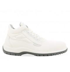 Chaussure de sécurité cuisine haute w400 blanche S2 Maxguard